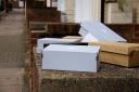 Empty trainer boxes